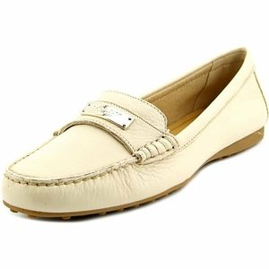 Coach Frederica Peebled Leather Loafers